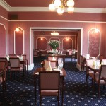 Dining room at the Sunninghill Hotel Elgin