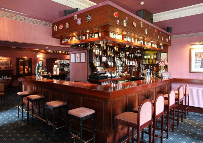The Bar at the Sunninghill Hotel Elgin